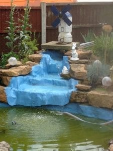 Fibreglass Waterfall